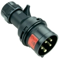 015-6x SPINA CEE 400V 16A 3P+N+T IP44 MIDNIGHT