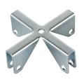 Croce in metallo per scomparti interni 70x70x22.5mm
