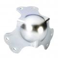 Paraspigolo 3 gambe 64mm in acciaio zincato 1.5mm