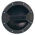 Maniglia incasso rotonda in pvc ø 190x55mm
