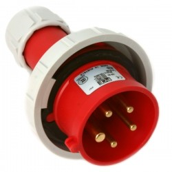 0152-6 SPINA CEE 400V 16A 3P+N+T IP67