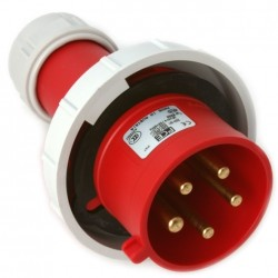 0252-6 SPINA CEE 400V 32A 3P+N+T IP67