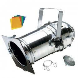 KIT PAR56 Corto alluminio lucidato + lampada e accessori