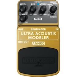 Ultra Acoustic Modeler - Effects stompbox