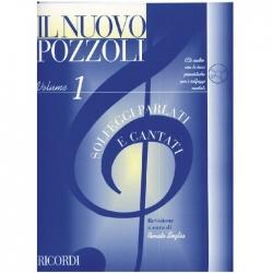 IL NUOVO POZZOLI Vol.1 Solfeggi parlati e cantati + CD