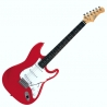 S-300 STRATOCASTER ELECTRIC GUITAR - RED CHROME