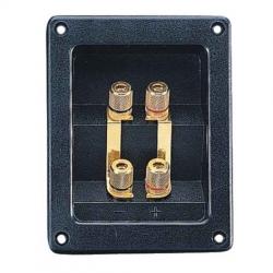 CIARE YAC012 vaschetta biwiring 4 morsetti 95,5x122,5mm