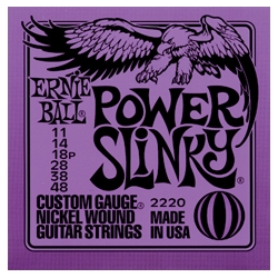 ERNIE BALL - Electric guitar 6 strings set POWER