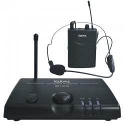 SET 6170LAV VHF Radio microphone Lavalier 174.50 MHz