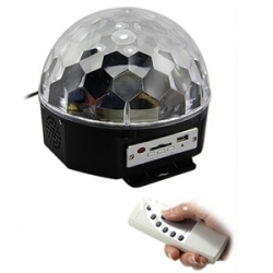 CB140 Cristal Magic Ball lampada musicale