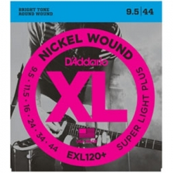 D'ADDARIO EXL120+ - ELECTRIC GUITAR 6 STRINGS SET - SUPER LIGHT +