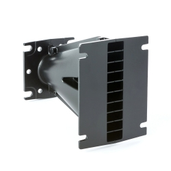 """TROMBA guida d\'onda 1\"""" in alluminio 110°x10° 86x110x131.5mm"""