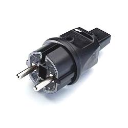 Spina Schuko IP44 x cavo piatto H05RNH2-F