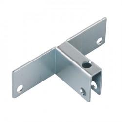 T in metallo per fissaggio scomparti interni 70x30x21mm