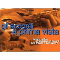 GLI ACCORDI A PRIMA VISTA - M. Vetta CURCI