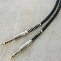Cavo strumenti ultraflex 2 maschi 6,3mm mono