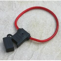 Portafusibile per fusibili lama medi con fili