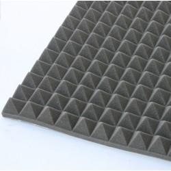 Foam piramidale adesivo autoestinguente