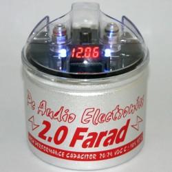 Condensatore small size 2F con display rosso