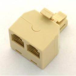 Sdoppiatore telefonico Usa 6p4c 1M/2F