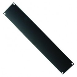 RS242 - 2 units frontal Rack panel black