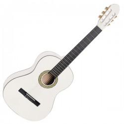 TOLEDO PRIMERA Chitarra classica 4/4 bianca