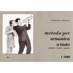 Ediz. Cervino Carnovich - Metodo per armonica a tasto