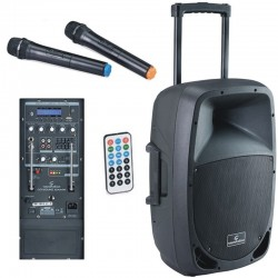SOUNDSATION GO-SOUND 12AMW Cassa trolley a batteria