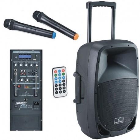 SOUNDSATION GO-SOUND 12AMW Cassa trolley a batteria