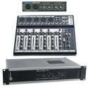 AMPLIFIERS, PREAMPLIFIERS AND MIXERS